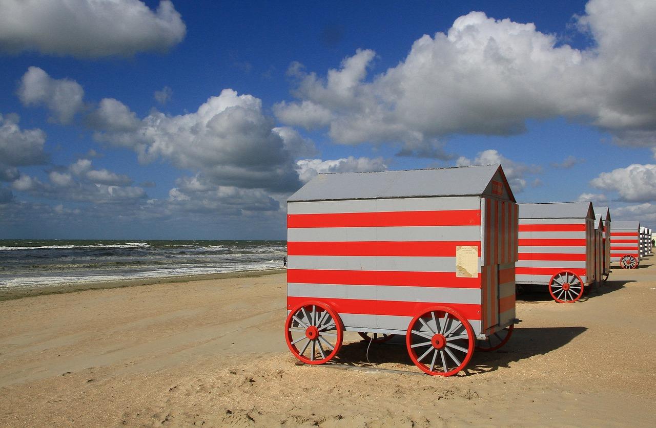 Plážový mobilní dům