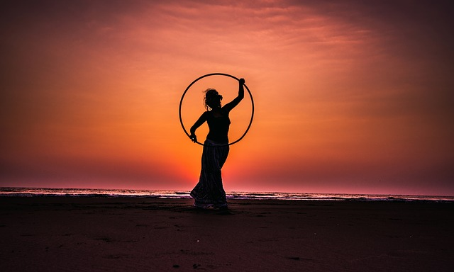 hula hoop a dáma