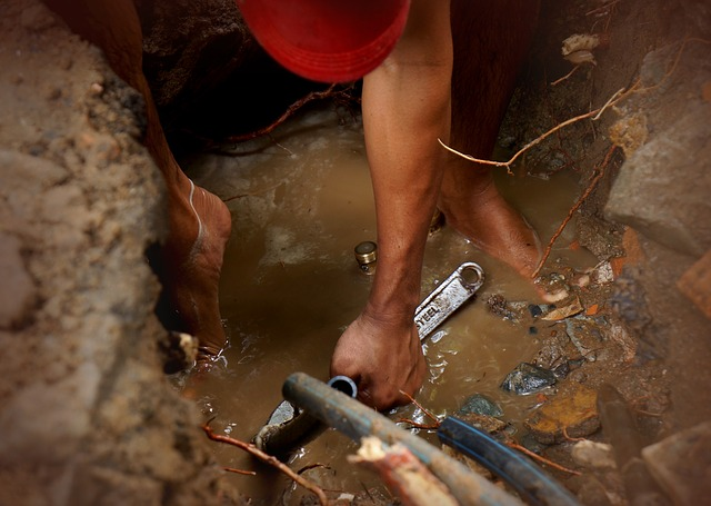 oprava vodovodu