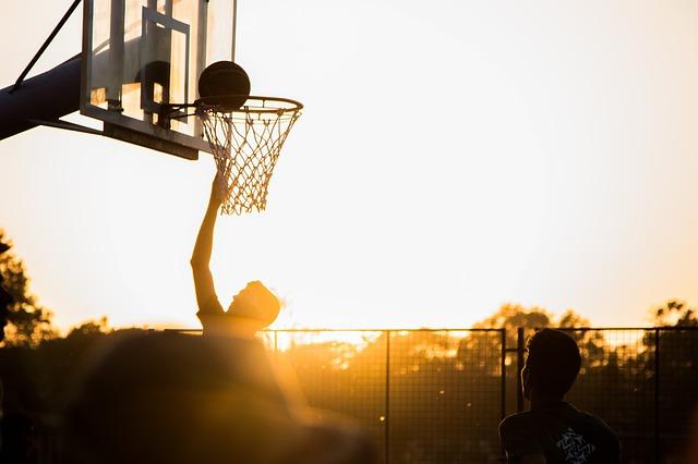 basketballový hráč